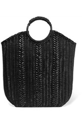 Ulla Johnson Rona Wicker Tote Black Gbp