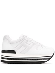 Hogan Low Top Platform Trainers 60
