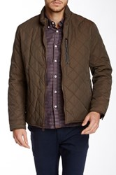 Cole Haan Quilted Jacket Green