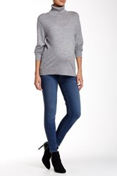 Paige Verdugo Elastic Jean Ankle Maternity Jean Blue