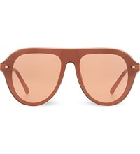 3.1 Phillip Lim Pl74 Aviator Sunglasses Army And Bronze