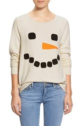 Wildfox Couture Women's Wildfox 'Baggy Beach Jumper Frosty Face' Pullover