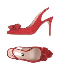 Marian Pumps Red