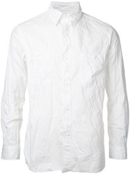 Orslow Chambray Shirt White