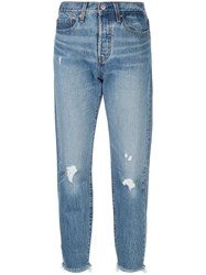 Levi's Wedgie Icon Jeans Blue