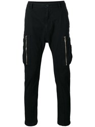 Helmut Lang Core Twill Cargo Pants Black