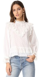 Ulla Johnson Noemie Blouse Pearl