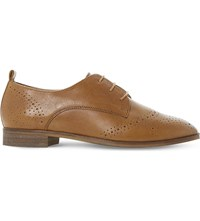 Dune Foster Leather Brogues Tan