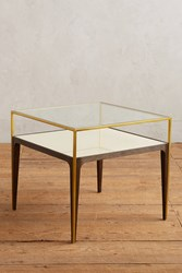 Anthropologie Silhouette Display Side Table Cream