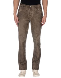 Carlo Chionna Trousers Casual Trousers Men Khaki