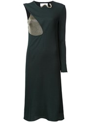 Esteban Cortazar 'Cocoon' Dress Green