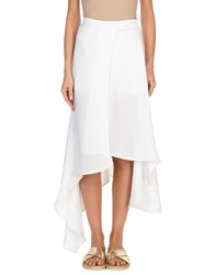 Amanda Wakeley 3 4 Length Skirts White