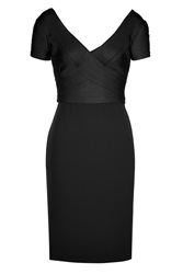Ralph Lauren Collection Silk Sheath Black