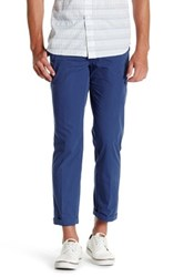 Tailorbyrd Flat Front Chino Pant 30 34 Inseam Blue