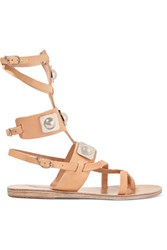 Ancient Greek Sandals Peter Pilotto Embellished Leather Gladiator Sand