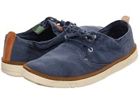 Timberland Earthkeepers Hookset Oxford Blue Canvas Men's Lace Up Casual Shoes
