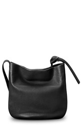 Shinola Mini Birdy Hobo Bag Black