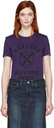Junya Watanabe Purple Graphic T Shirt