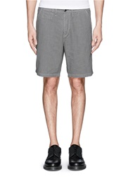 Paul Smith Micro Houndstooth Shorts Grey
