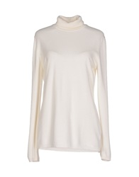 Kangra Cashmere Turtlenecks White