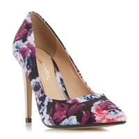 Head Over Heels Addyson High Heel Court Shoes Multi Coloured
