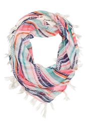 Roxy Beach Bonfire Scarf Warm White Multicoloured