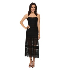 French Connection Fringe Fancy Dress Black Women's Dress
