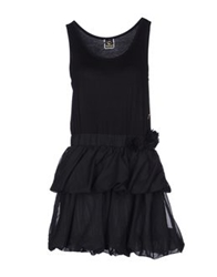 Maison Espin Short Dresses Black