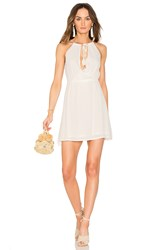 Wyldr The Babe Mini Dress Ivory