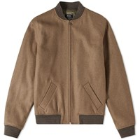 A.P.C. Gaston Wool Bomber Jacket Neutrals