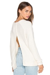 Lamade Eve Zip Back Sweater Ivory