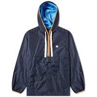 Acne Studios Osaze Half Zip Jacket Blue