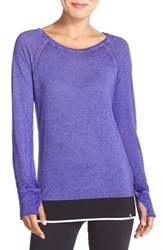 Women's Marc New York 'Luxe Super Wash' Long Sleeve Tee