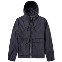 Tres Bien Two Layer Short Parka Blue