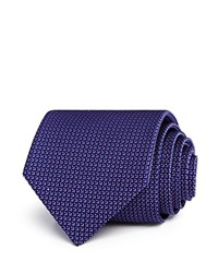 Bloomingdale's The Men's Store At Diamond Neat Classic Tie 100 Exclusive Purple