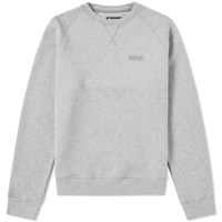 Barbour International Essential Crew Sweat Grey