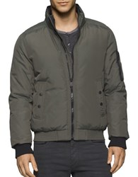 Calvin Klein Jeans Memory Puffer Jacket Olive