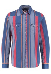 Wrangler Slim Fit Shirt True Blue Blue Denim