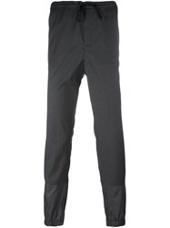 3.1 Phillip Lim Drawstring Trousers Black