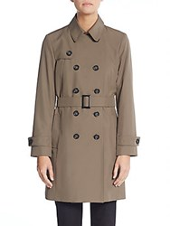Cinzia Rocca Double Breasted Trenchcoat Mocha