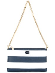 Dolce And Gabbana Mini Shoulder Bag Blue