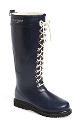 Ilse Jacobsen Women's Hornbaek Rubber Boot Dark Indigo