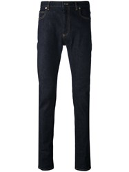Maison Martin Margiela Slim Fit Jeans Men Cotton Spandex Elastane 34 Blue