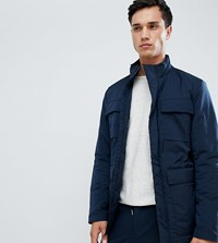 Selected Homme Technical Jacket With Thinsulate Lining And Multimedia Pocket Dark Sapphire Navy