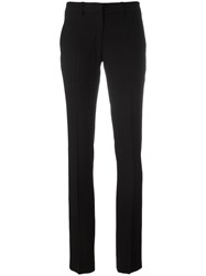 Ann Demeulemeester Slim Fit Tailored Trousers Black