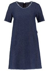 Ltb Melito Denim Dress Magra Wash Blue Denim