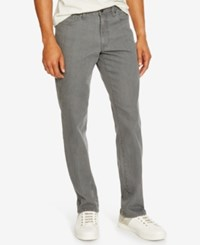 Kenneth Cole Reaction Men's Straight Fit Gray Wash Jeans Grey