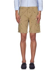 Napapijri Trousers Bermuda Shorts Men Sand