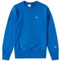 Champion Reverse Weave Classic Crew Sweat Blue