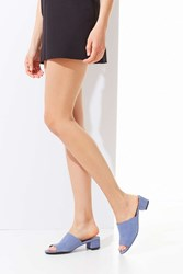 Urban Outfitters Patti Low Heel Mule Blue